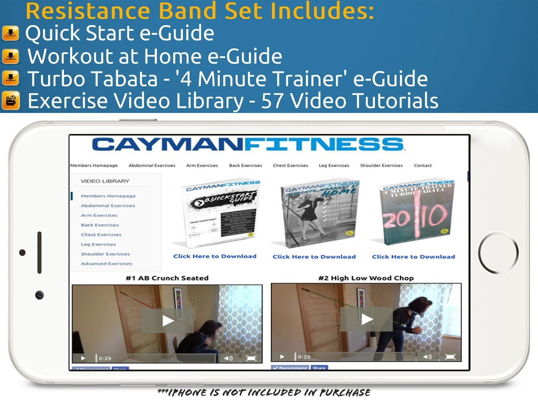 Tensores Cayman Fitness Premium por sólo 29,95€