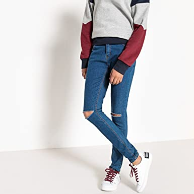 10-16 Years La Redoute Collections Big Girls Skinny Jeans