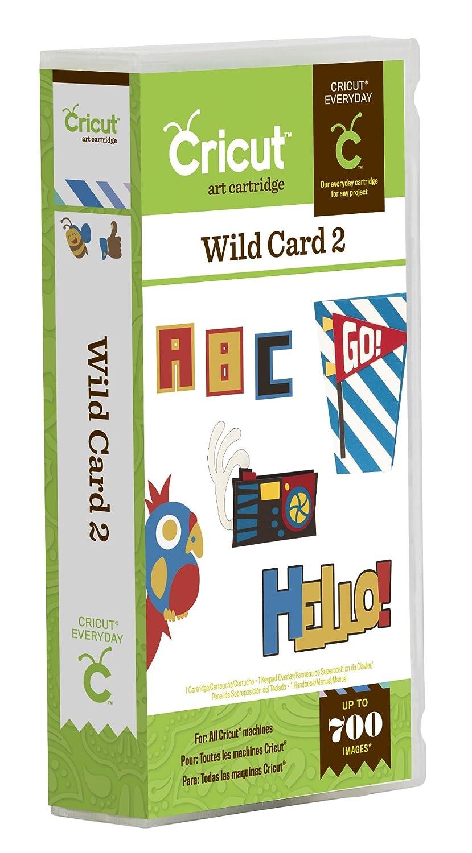 Cricut Wild Card 2 Cartridge 2001424