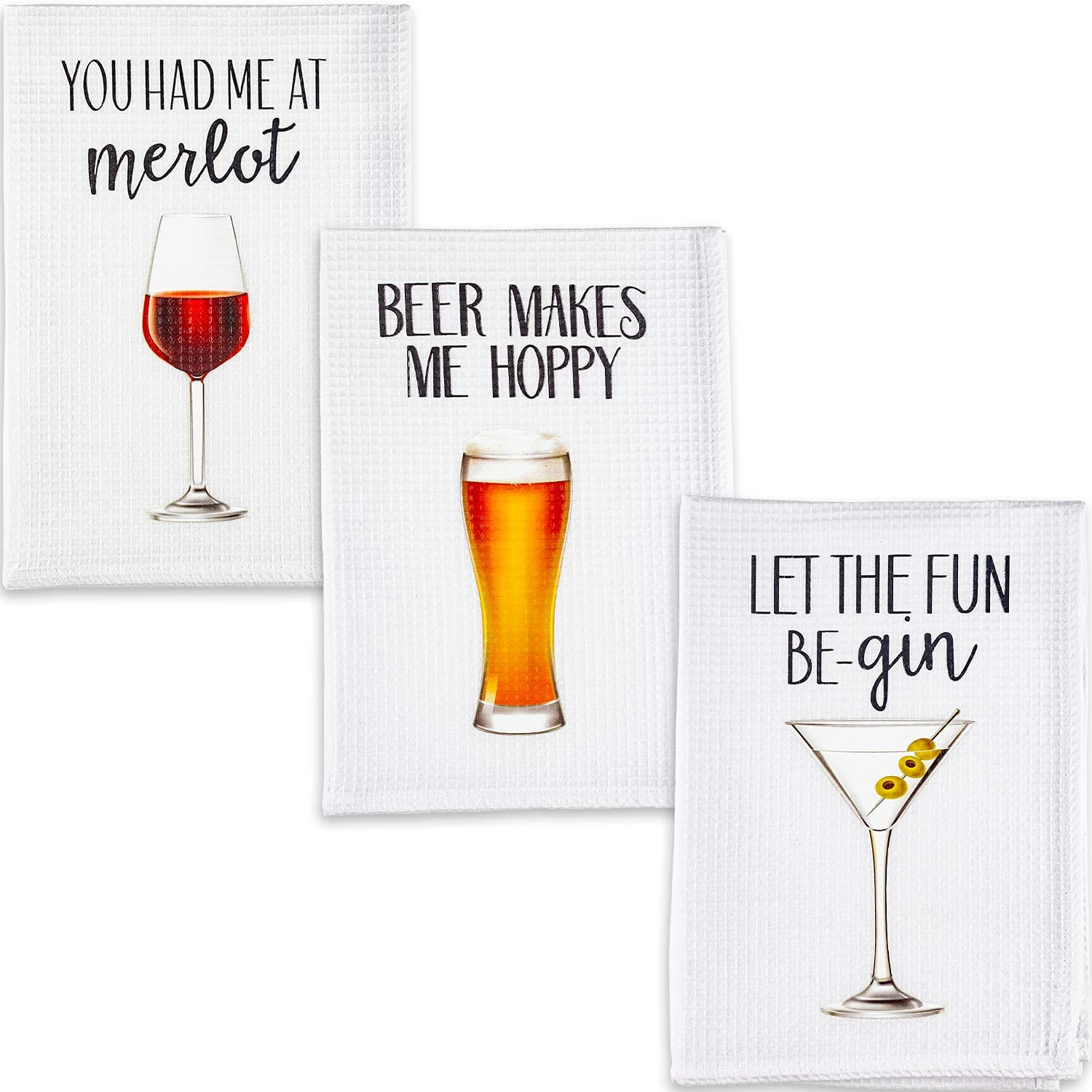 Housewarming Gifts New Home - Funny Dish Towels as Housewarming Gifts for Women, House Warming Presents for Women, Funny Kitchen Towels, House Warming Presents for New Home, New Home Gifts for Home