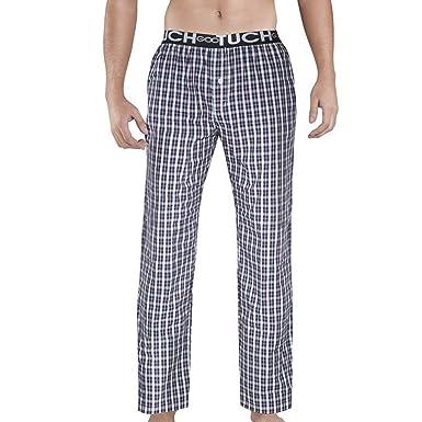 mirada detallada nuevo producto calidad asombrosa Hombre Pijamas Pantalones de Dormir de los Hombres de Tela ...