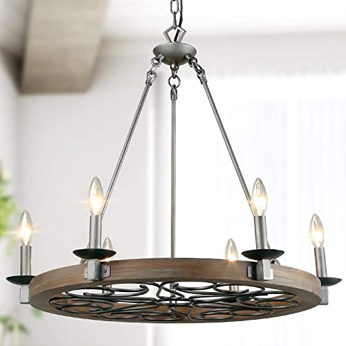 LNC A03301 Farmhouse Chandelier