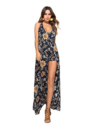 5748c300ff9d TieNew Women Summer Beach Shirt Dress