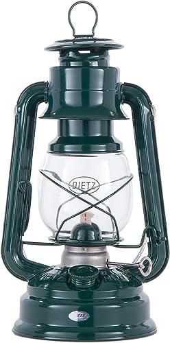 B P Lamp Dark Green Dietz 78 Mars Oil Burning Lantern – Hurricane Style Lantern for Camping, Picnics, Prepping or Decorating