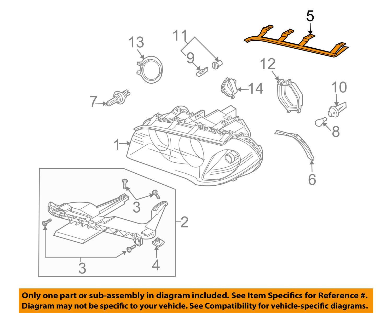 BMW 63-12-6-939-273 GASKET HEADLIGHT AN
