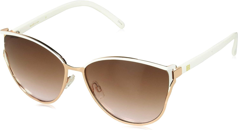 Laundry by Design Women's LD174 Cat-Eye Sunglasses, 65 mm