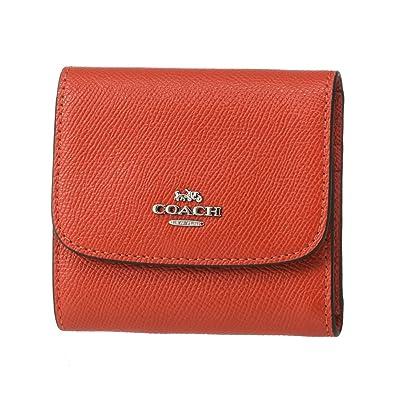 pretty nice 2a8c1 16b1c Amazon | [コーチ] COACH 財布 (三つ折り財布) F87588 オレンジ ...