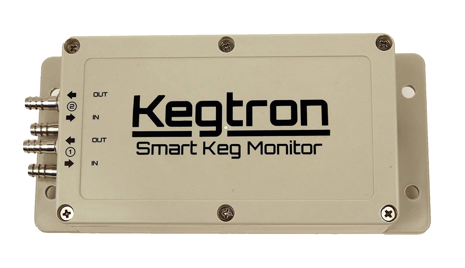 Kegtron Smart Keg Monitor - Dual Tap Expansion Unit | Track Your Keg Levels From Your Phone | Upgrade Your Taps