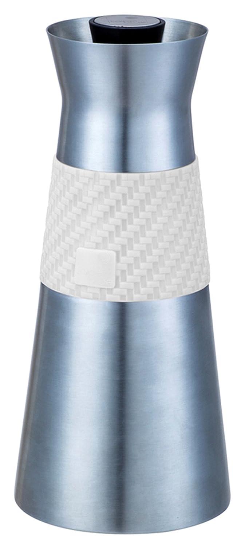 XTRA Tee Isolierkanne Edelstahl, Automatischen Stop Thermos, geeignet für Tagungen und Konferenzen , Edelstahl, Vakuum mit dobbelte wand, 0.9 liter, Gelb/Grünen Griff Gelb/Grünen Griff