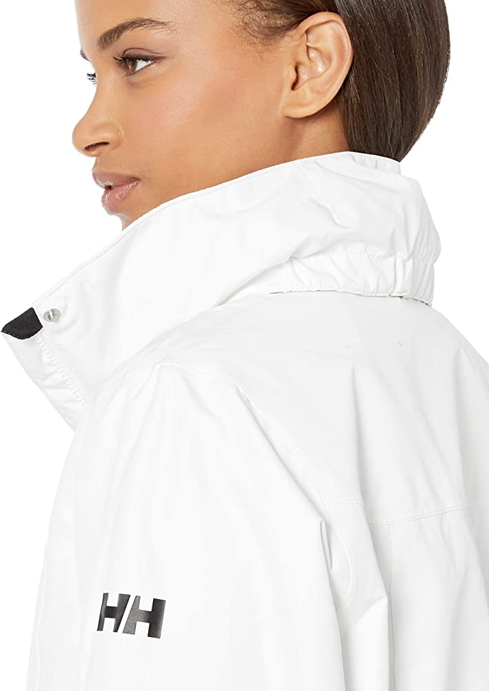 Helly Hansen W Aden Long Coat Jacket, Mujer, White, XS: Amazon.es ...