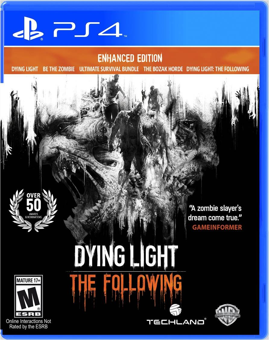 Dyng Light The Following - top de zombies