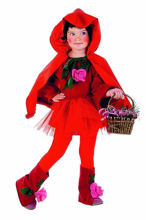 Limit Sport MB216 - Disfraz de caperucita roja para nia (talla 2, incluye falda