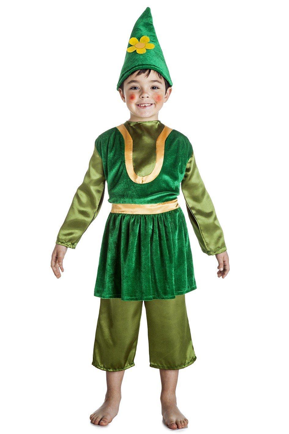 Disfraz de Gnomo Infantil (5-6 años): Amazon.es: Juguetes y juegos