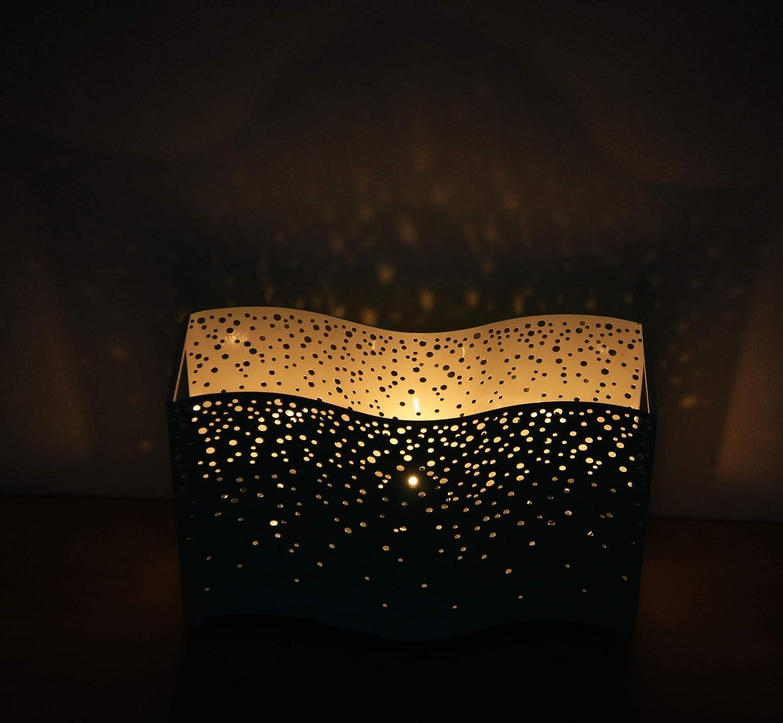/Bougies Non Inclus Officiel Yankee Candle Vert Menthe Relaxation Enchanting Glow M/étal Multi Photophore Accessoire de d/écoration/