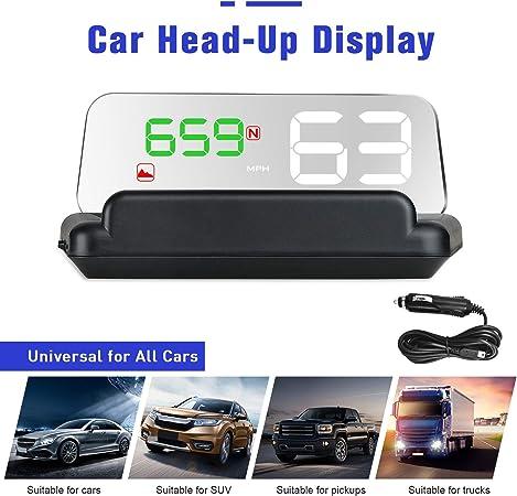 Swoo Car Hud Display Obd2 Lcd Elektronik