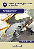 Igualación y preparación de superficies. tmvl0509 - pintura de vehículos