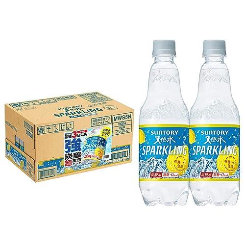 サントリー 天然水スパークリングレモン 強炭酸超実感パック 500ml×24本