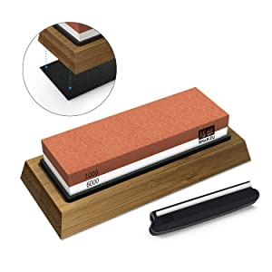SHAN-ZU Whetstone Knife Sharpening Stone Set Review