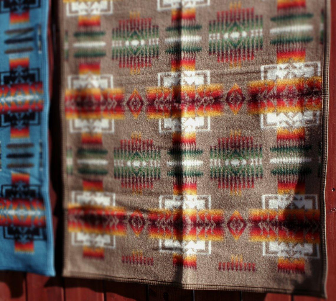 Pendleton Chief Joseph Crib Blanket White 71077 WHTE 1SZ