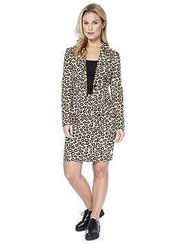 Las mujeres Opposuit Señora Jag, tamaño 34, traje de leopardo ...