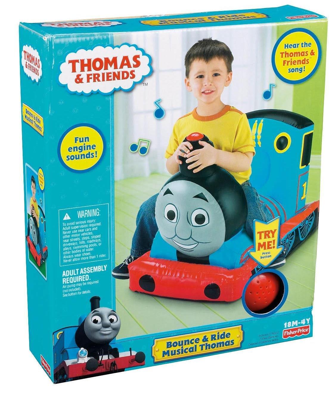 Amazon.com: Thomas el Tren: Bounce y ride Thomas: Toys & Games
