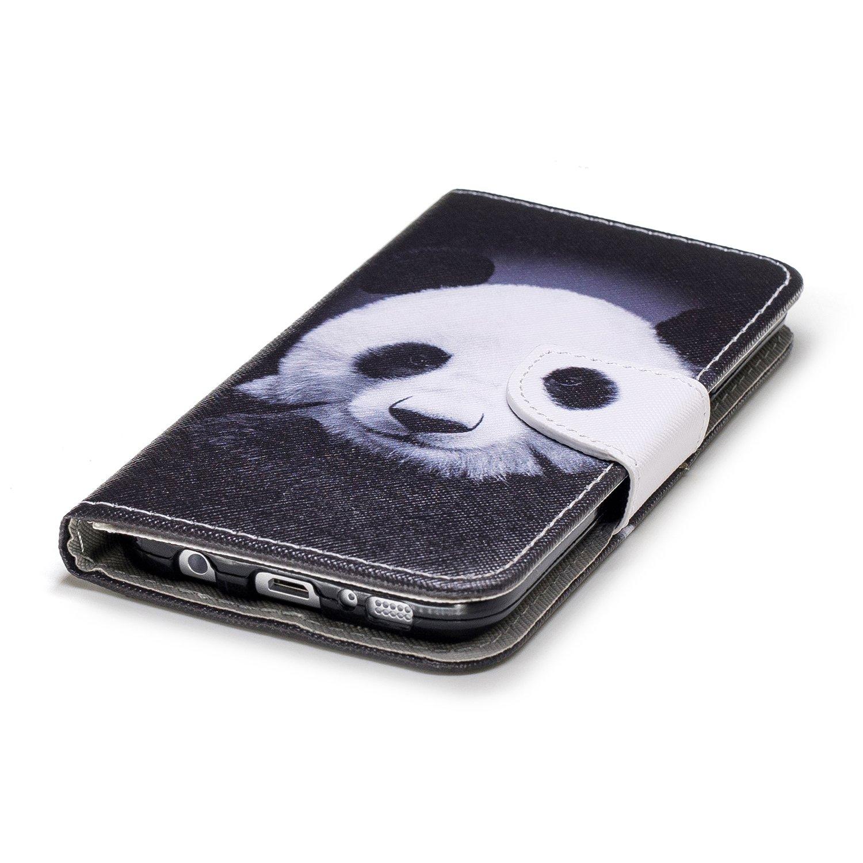 Herbests Kompatibel mit Handytasche Galaxy S7 Edge Lederh/ülle Flip Case H/ülle Sch/ön Retro Bookstyle Leder Klapph/ülle Ledertasche Brieftasche Schutzh/ülle Wallet Handyh/ülle Leder Tasche,Ananas