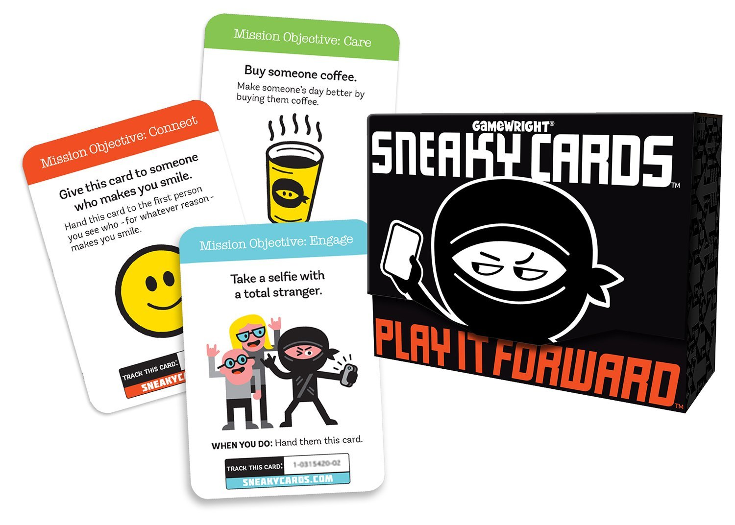 "Sneaky Cards Card Game With A 17"" By 11"" Usa Map by Gamewright"