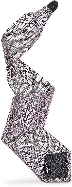 Modern Tie Mens Magnetic Skinny Woven Silk Necktie Solid