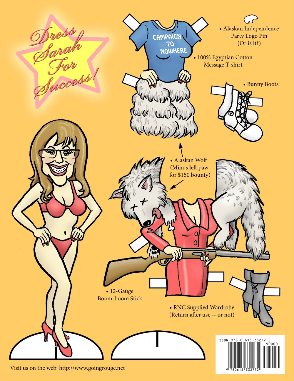 Includes Sarah Palin Paper Doll