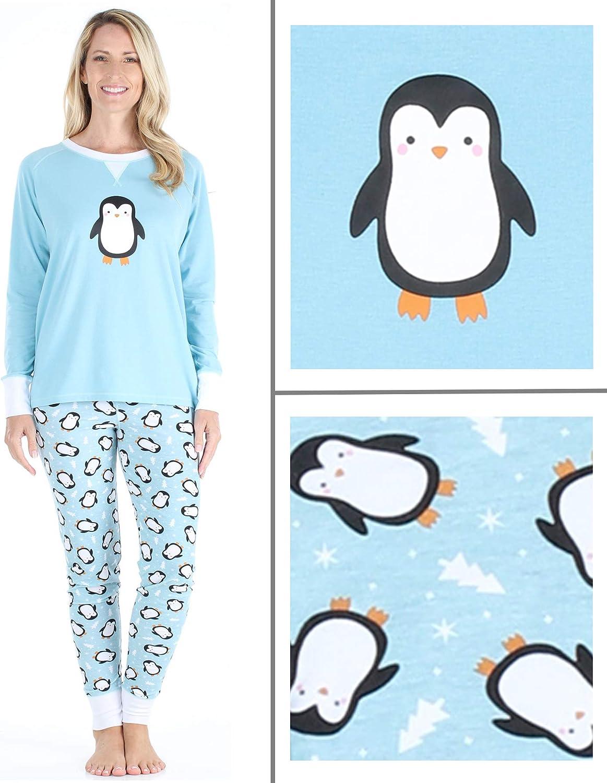Pinguino Verde Our Family Pjs Pigiama Coordinato per Tutta la Famiglia