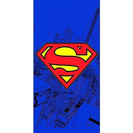 Toalla de playa con logotipo de Superman
