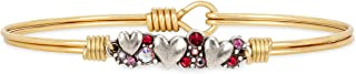 product image for Luca + Danni | Heart Medley Bangle Bracelet For Women Made in USA