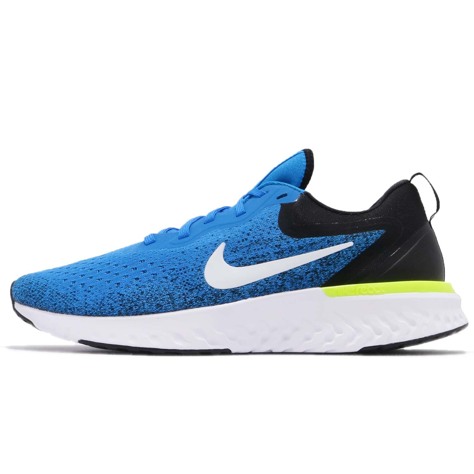 Nike Men's Odyssey React Running Shoes (7.5, Photo Blue/Black) by Nike (Image #1)