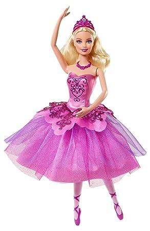 Amazones Mattel BBM00  Mueca Barbie bailarina de la pelcula