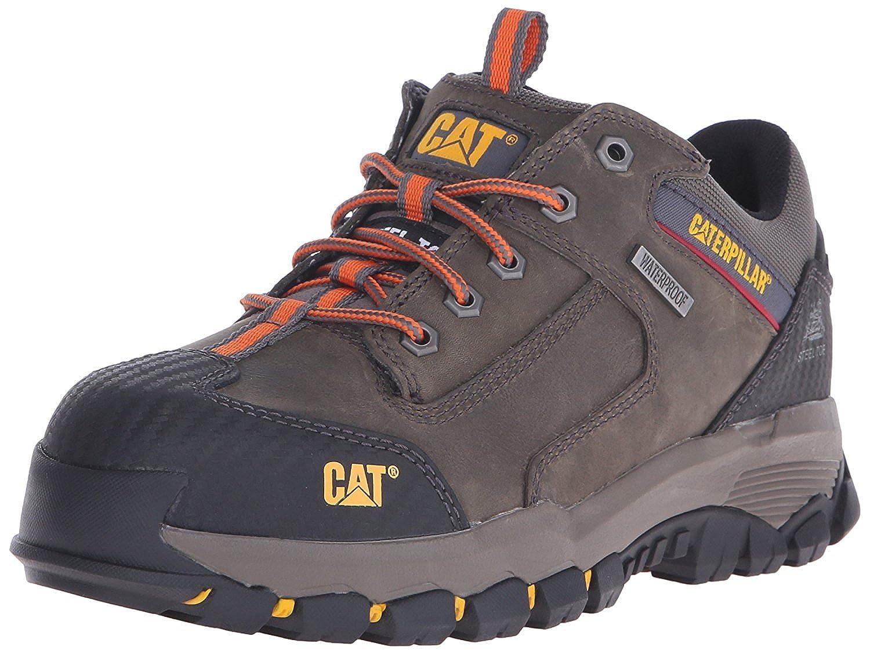 Caterpillar Men's Navigator WP Work Oxfordeel Toe Dark Gull Grey 14 M US [並行輸入品] B075GMD3F1