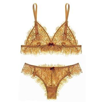 Sexy Mousse Women s Demi Bras Cups Full Lace Transparent Bralette Lingerie  Underwear Set Summer Design