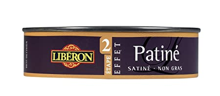 Liberon Effet Patiné Pour Meuble Et Objet Noir Graphite 150ml