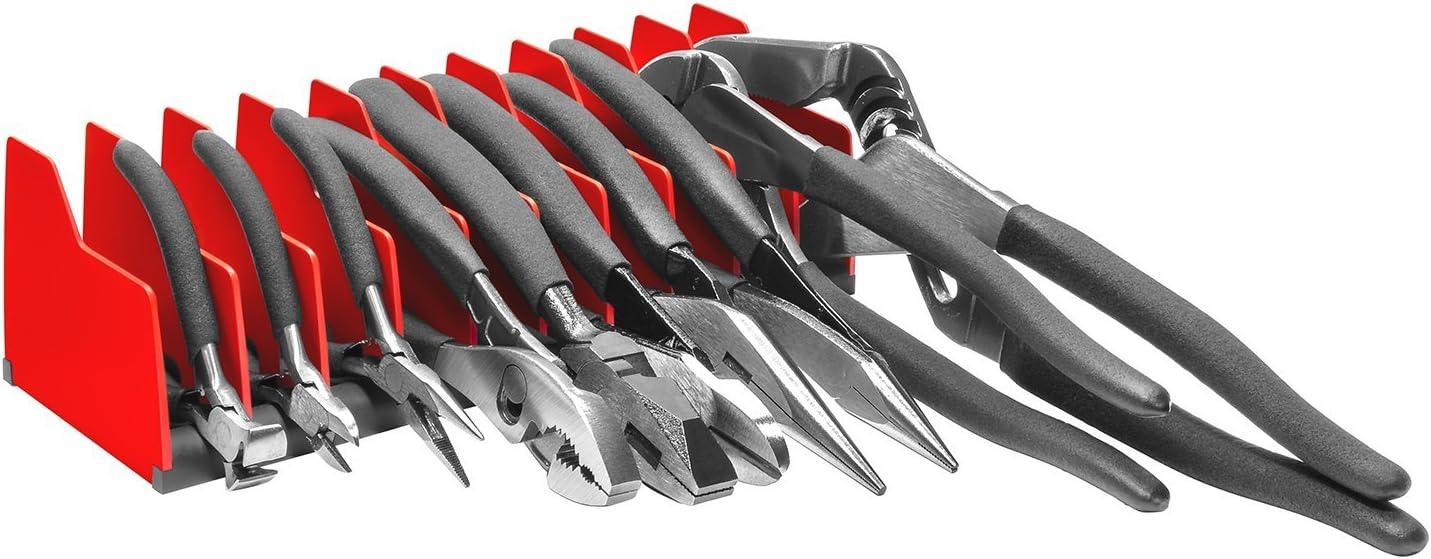 Ernst Manufacturing 5500 Plier Pro 10 Tool Capacity No-Slip Plier Organizer