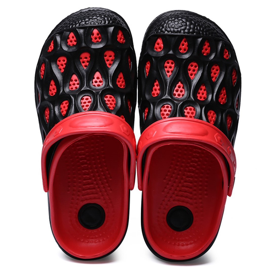 SUADEEX Femmes Homme Mules Sabots Respirant Plastique Chaussures de Jardin D/Ét/é Amants Pantoufles Plage Sandales Unisexe Piscine Sandales Chaussons
