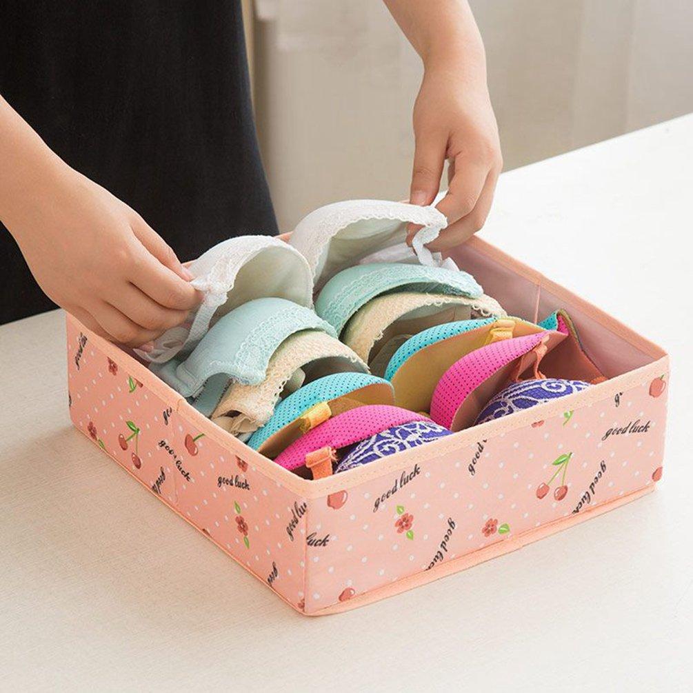 Schrank Organizer Bra Unterw/äsche Schublade,Aufbewahrungsboxen Socken oder Kommodenschubladen Sentao Schublade Organizer