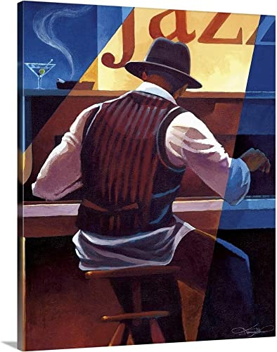 Ragtime Canvas Wall Art Print