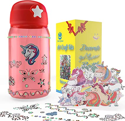 Unicorn Unicorn water bottle custom colors personalize Kid Gift