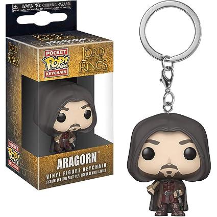 Amazon.com: Aragorn: Lord of The Rings x Funko Pocket POP ...
