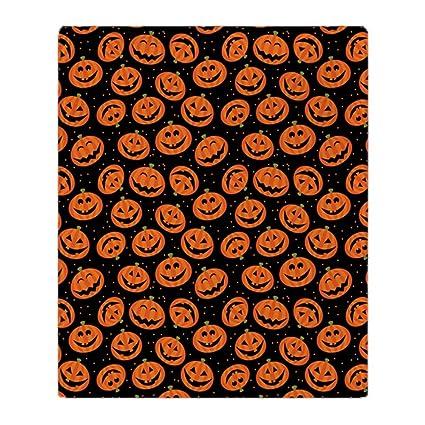 Amazon CafePress Halloween Pumpkin Flip Flops Soft Fleece Adorable Flip Flop Throw Blanket