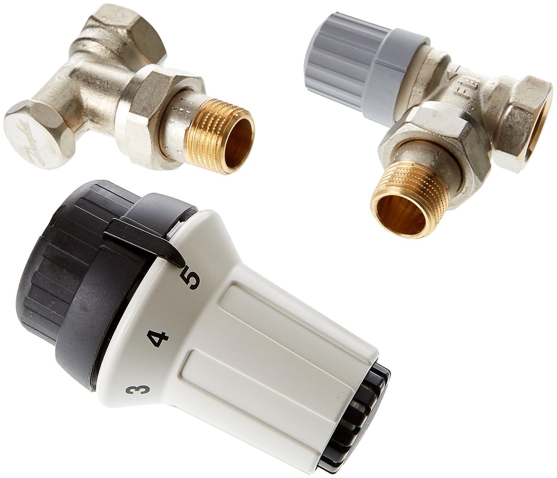 Danfoss 013 g5254 Kit pour radiateur avec Attaque Panda RA-FN s, RLV-S 15 s, Multicolore RLV-S 15s 013G5254
