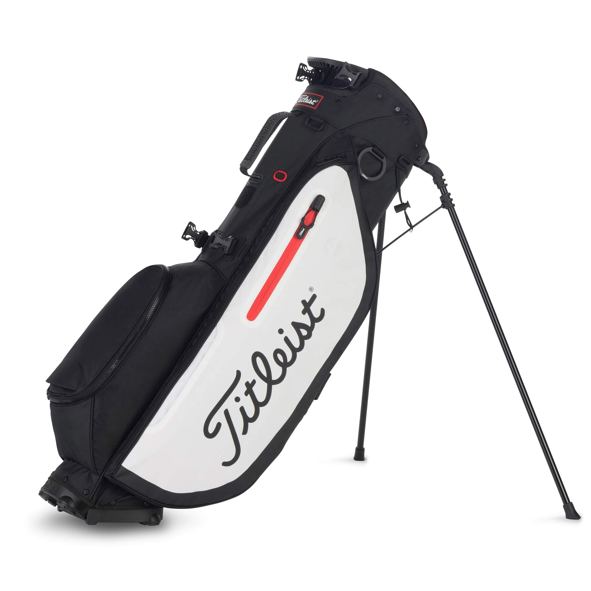 Titleist Players 4 Golf Bag Black / White / Red by Titleist