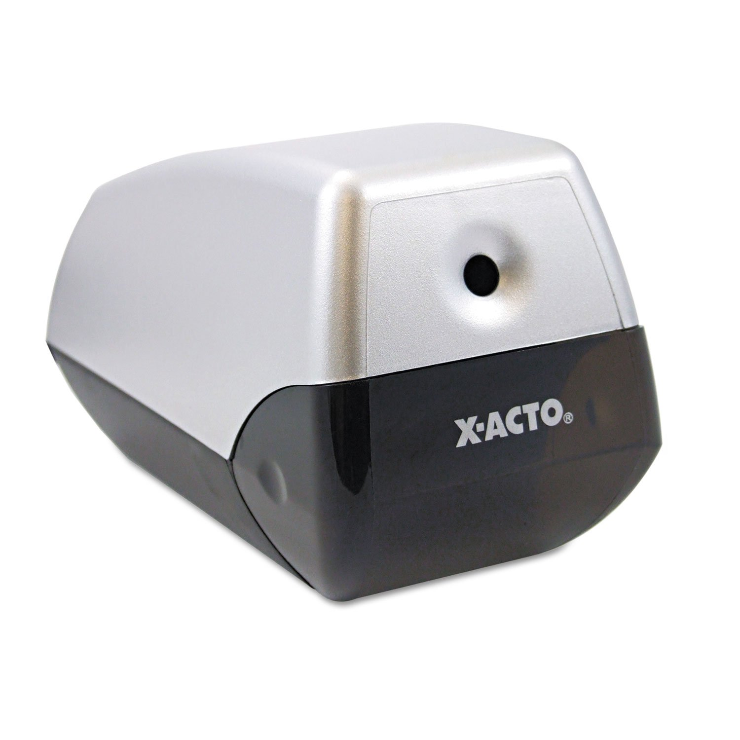 X-ACTO 1900 Helix Office Electric Pencil Sharpener, Silver/Black by X-Acto (Image #4)
