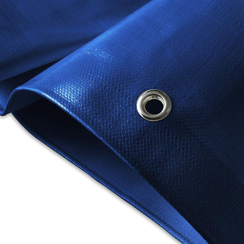 Epaisse densit/é 140g//m/² Argent 3x5m env Bache imperm/éable etm/® avec oeillet Bache de protection ext/érieur /& int/érieur Bache /étanche /& r/ésistante /à leau et UV