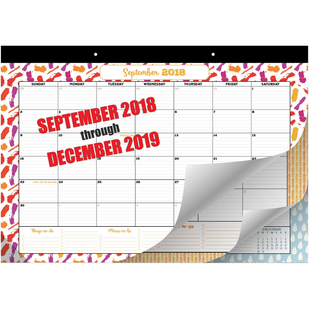 Amazon Com Goodtimes Desk Calendar Wall Calendar 2018 2019
