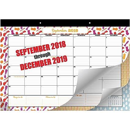 Amazon Com Goodtimes Desk Calendar Wall Calendar 2018 2019